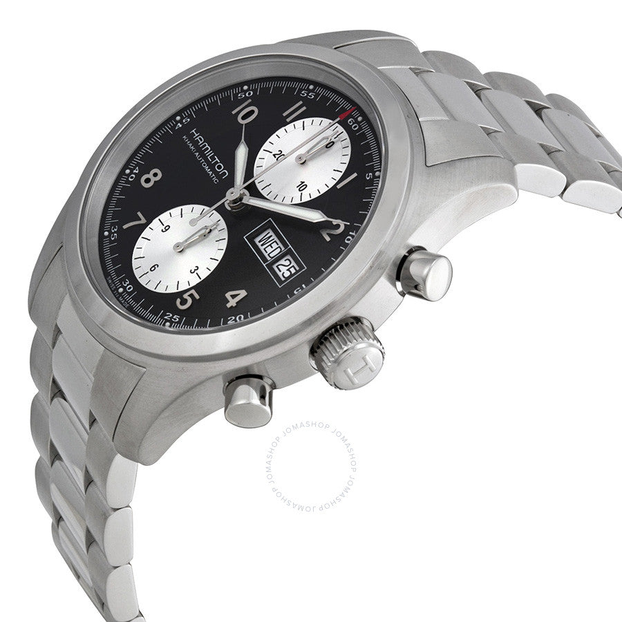 Hamilton Khaki Field Chronograph Automatic Stainless Steel Men's Watch H71566133