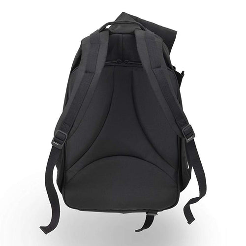 Cote et Ciel Men's Isar Large Eco Yarn Welded Zip Backpack Black 27700