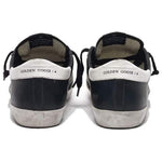Golden Goose Deluxe Brand Black/White Star Women's Sneakers Leather and Rubber G36WS590.L27