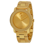 Movado Bold 36 mm Champagne Dial with Yellow Gold-tone Hands Ladies Watch 3600085