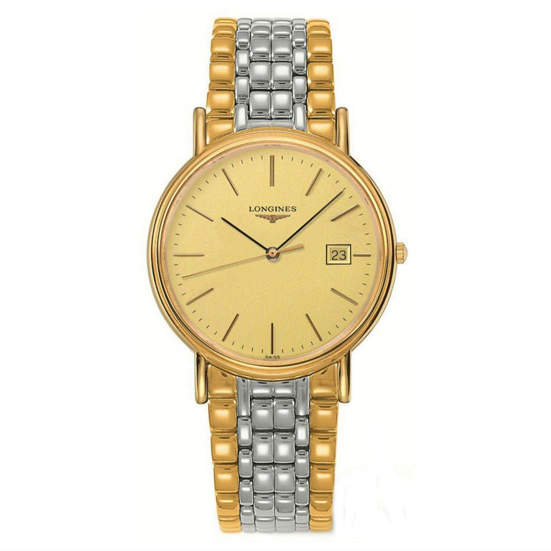 Longines La Grande Classique Presence Automatic Men's Watch 39 mm Gold dial L47902327