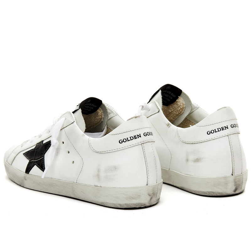 Golden Goose Deluxe Brand Superstar White Leather Womens Sneakers G36WS590.T26