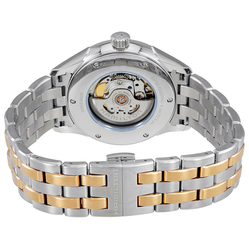 Hamilton Jazzmaster Viewmatic Silver Dial Automatic Men's Two Tone Watch H42725151