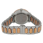 Movado Bold 34 mm Silver Dial Two-tone PVD Stainless Steel Bracelet Ladies Watch 3600504