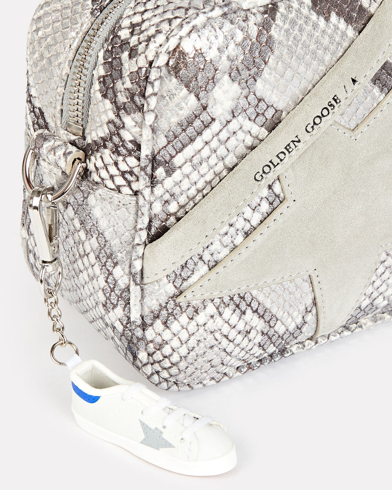 Golden Goose Star Bag Python-Effect Crossbody Bag