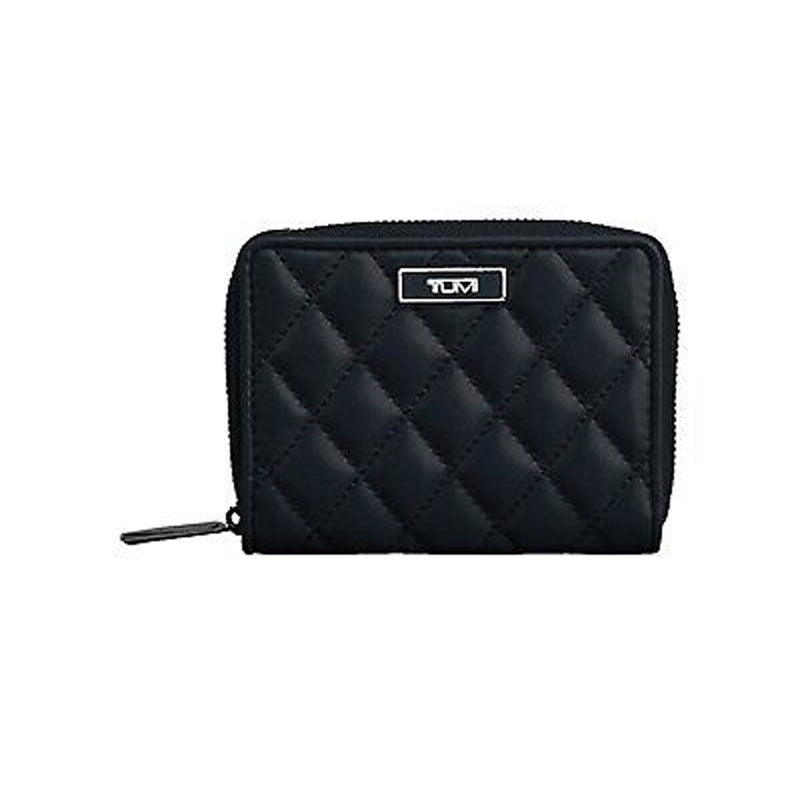 Tumi Montague SLG-Zip around Black small wallet 014695D