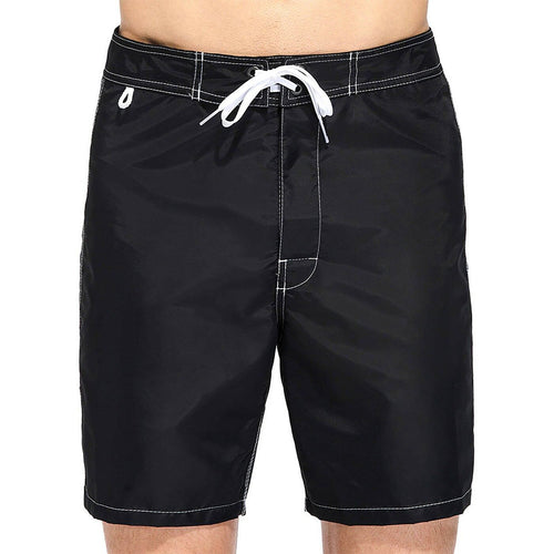 Sundek Men's Short-Length Boardshorts Fixed Waist Double-Layered Taffeta Nylon M503BDTA100