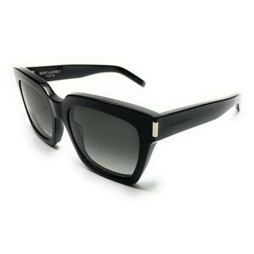 Yves Saint Laurent Bold 1 Black Gray Gradient Sunglasses Womens SLBOLD1 oo2