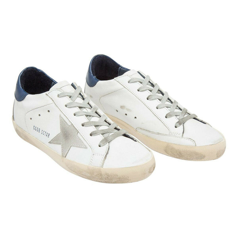 Golden Goose Deluxe Brand Superstar Women's White Sneaker Leather Rubber Sole GCOWS590.A7