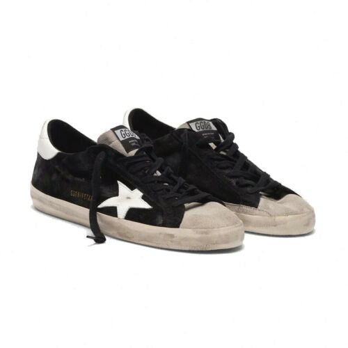 Golden Goose Superstar Men's Sneakers Two Colors Suede White Star G35MS590.Q22