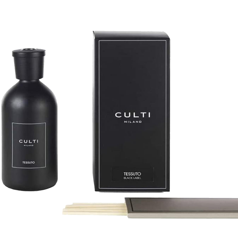 Culti Milano Black Label Home Diffuser Tessuto 500ml-16.9oz