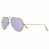 Ray-Ban Aviator Polarized Lilac Flash Lens RB3025 1671R 58mm - 58mm