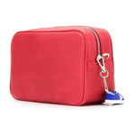 Golden Goose Womens Shoulder Star Bag In Grained Leather - Red/Red G36WA881.A2