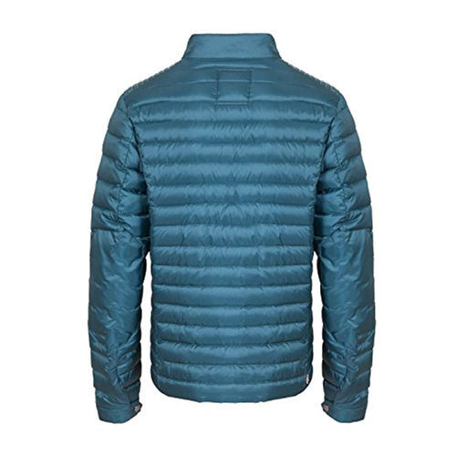 Colmar Biker Style Light Men's Down Jacket Adjustable Cuffs Zipped Inner Side  Pocket 12211MQ