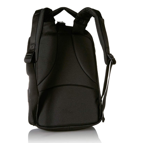 Cote & Ciel Unisex Oril Ecoyarn Small Backpack with Front Compartments Black One Size 28666