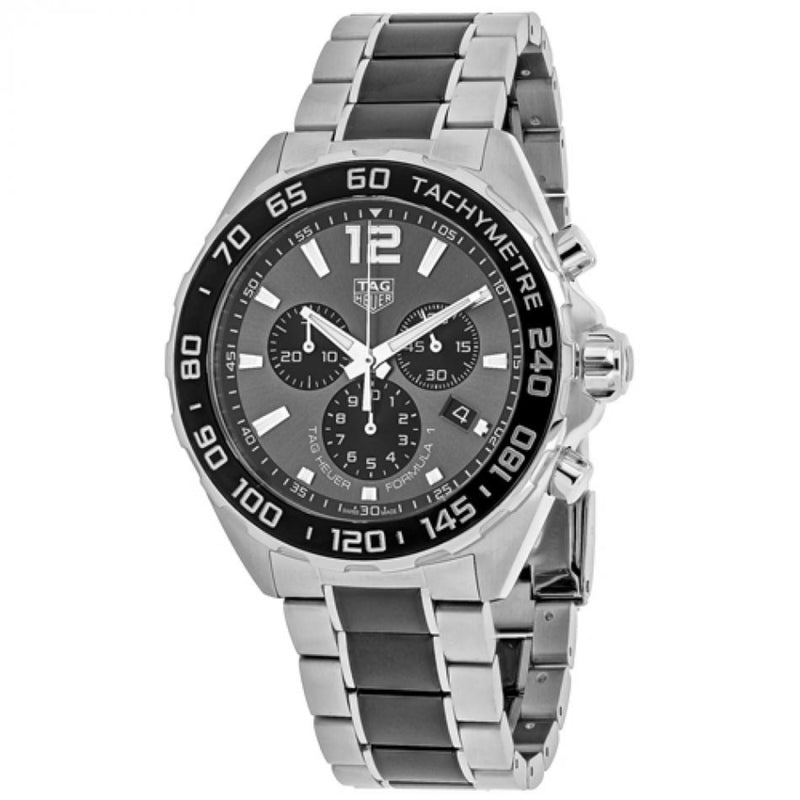 Tag Heuer Formula 1 Chronograph Anthracite Grey Dial Men's Watch CAZ1011.BA0843
