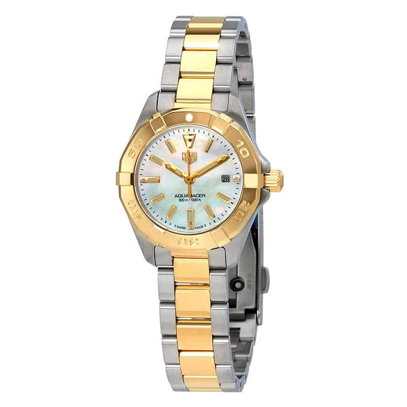 Tag Heuer Aquaracer Quartz 27mm Ladies Watch WBD1420.BB0321 - Silver