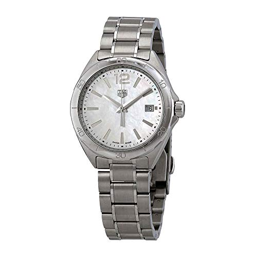 Tag Heuer Formula 1 Mother of Pearl Dial Silver-tone 35 mm Ladies Watch WBJ1318.BA0666