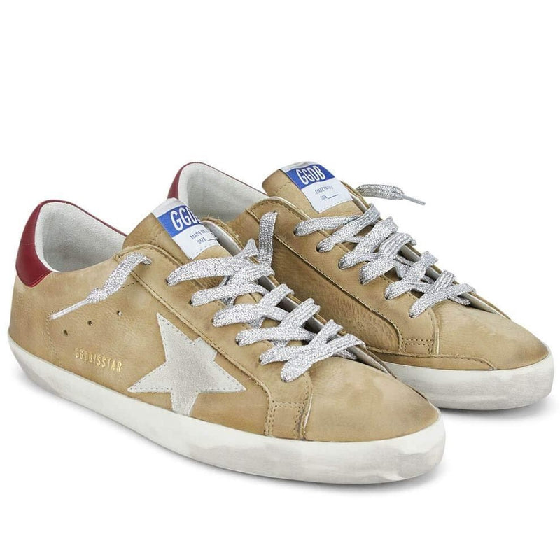 Golden Goose Superstar Nabuk Upper Suede Star Leather Mens Sneaker