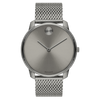 Movado BOLD 42 mm Grey ion-plated Stainless Steel Case Mens Watch 3600599