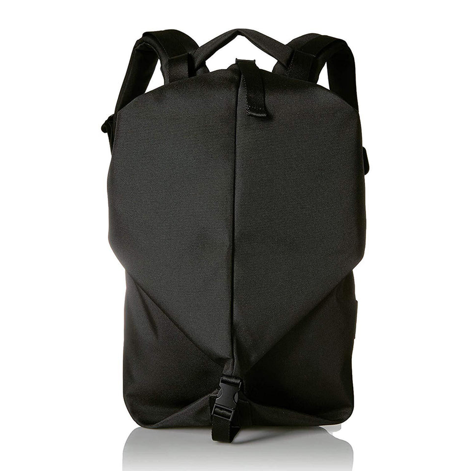Cote & Ciel Men's Oril Ecoyarn Small Backpack with Front Compartments Black One Size 28666