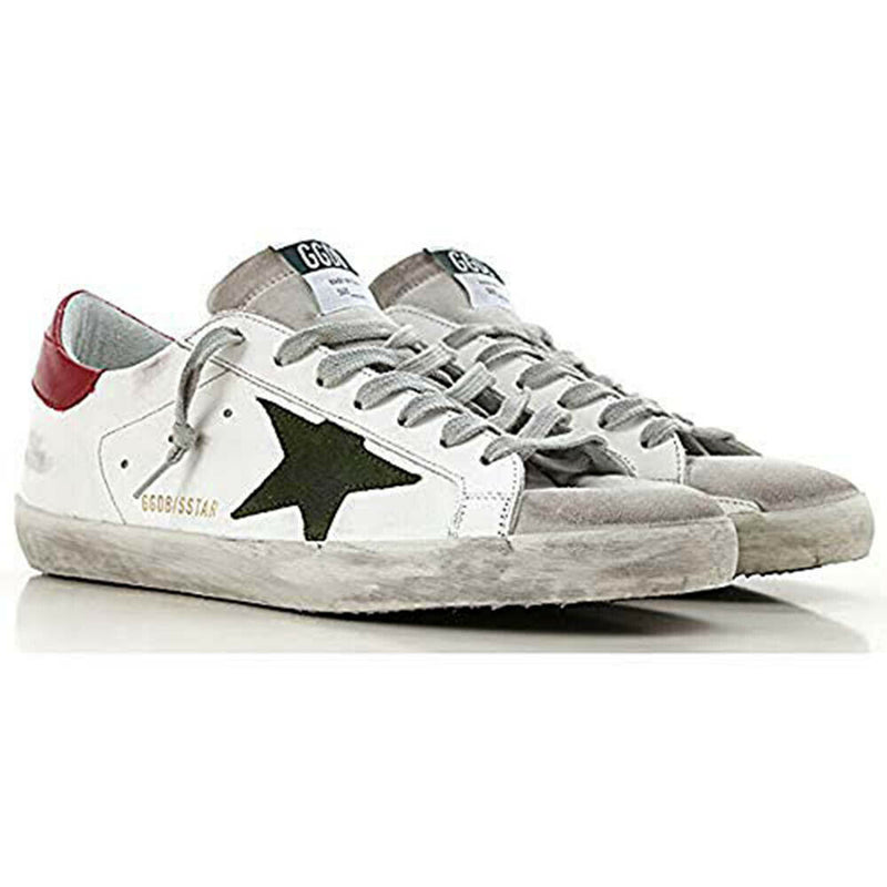 Golden Goose Deluxe Brand Superstar White Men's Leather Sneakers G34MS590.N14