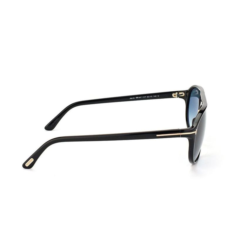 Tom Ford Jacob TF44701P Black & Blue Sunglasses - 60 15 140 / Black