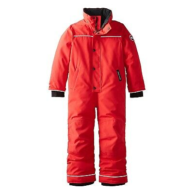 Canada Goose Kids Red Grizzly Snowsuit Reinforced Durability B00D07JFGU Size 4-5 2318K
