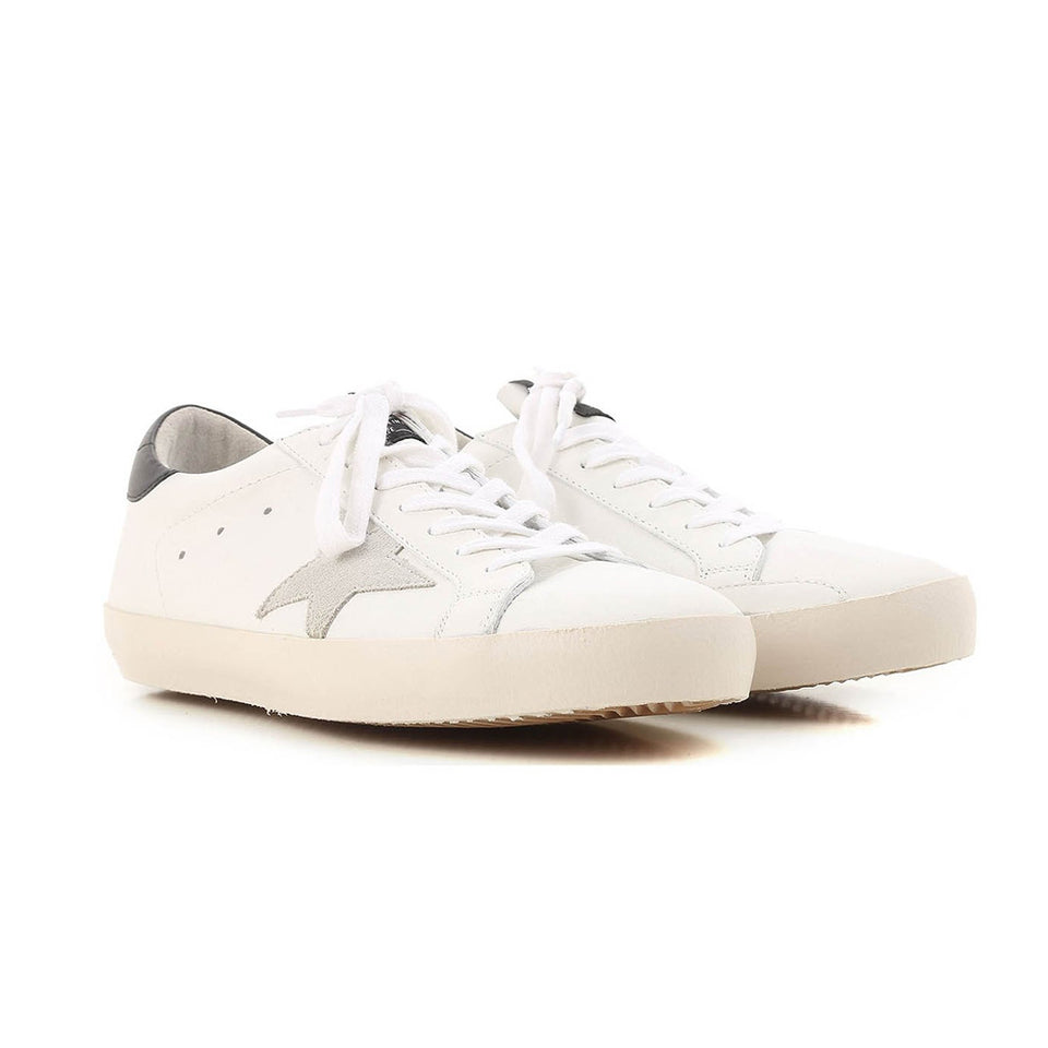 Golden Goose Superstar Leather Rubber Light Brown White Men's Sneakers G32MS590.E73