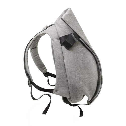 Cote & Ciel Isar Large Eco Yarn Backpack with Padded Laptop pocket Grey Melange 27702
