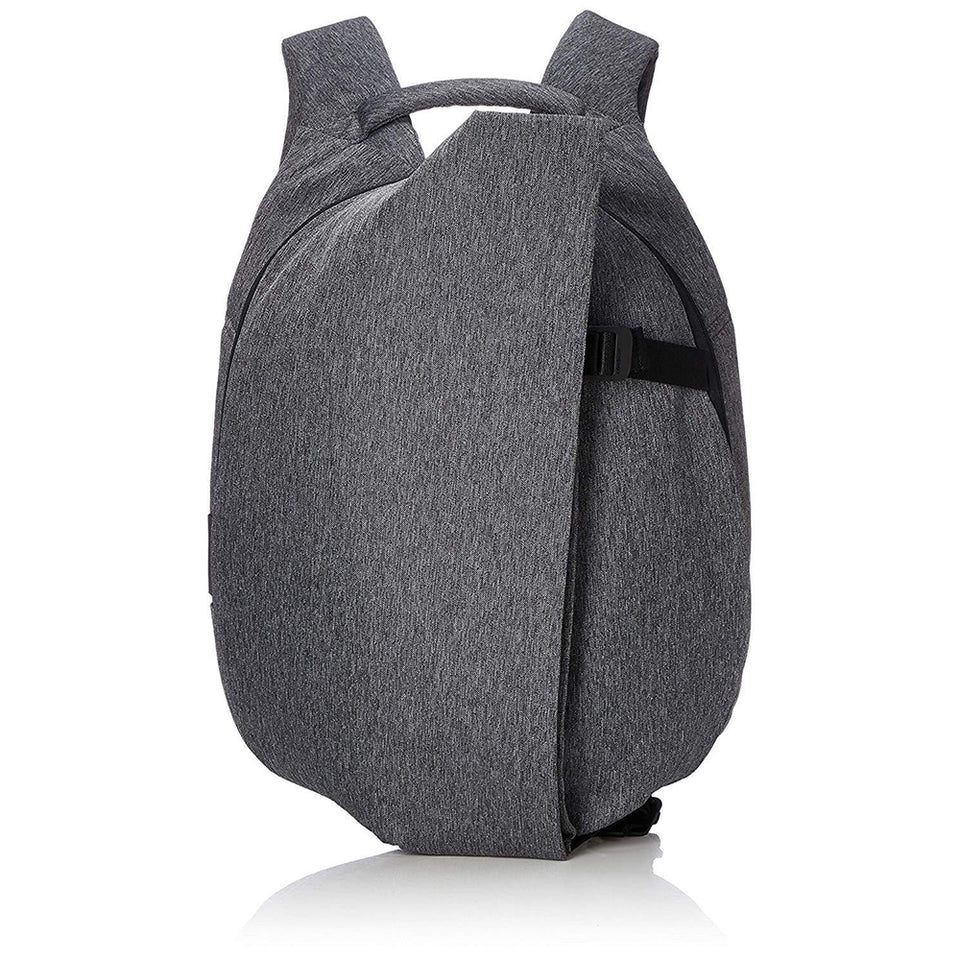 Cote & Ciel Men's Isar Ecoyarn Small Backpack laptop Sleeve Black Melange One Size 28492