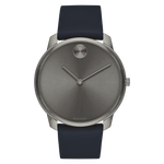Movado BOLD 42 mm Grey ion-plated Stainless Steel Case with Grey-Toned Dial Mens Watch 3600586
