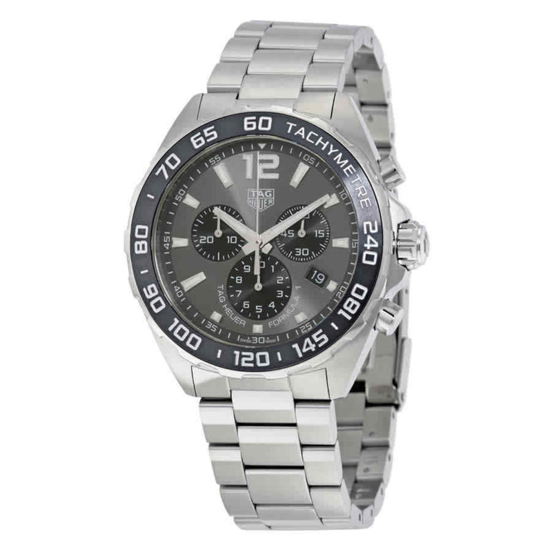 TAG Heuer Men's Formula 1 43mm Quartz Grey Dial Analog Watch CAZ1011.BA0842