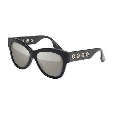 Alexander McQueen Women's Acetate Frame 54 15 Sunglasses in Black MQ0021S oo2