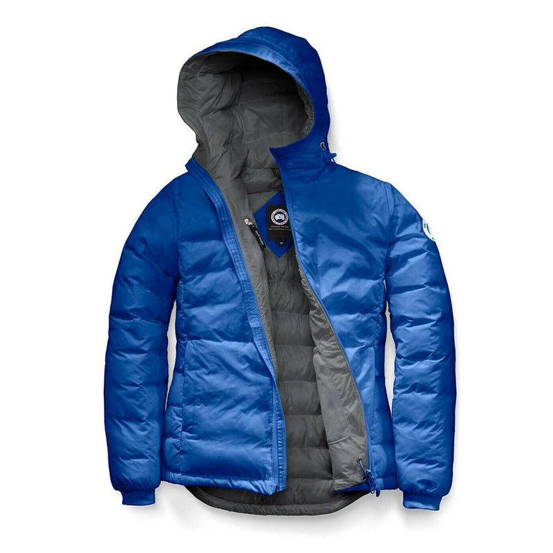 Canada Goose Ladies PBI Camp Hoody Royal Jacket Insulated Windguard Blue Small Size 5055LPB