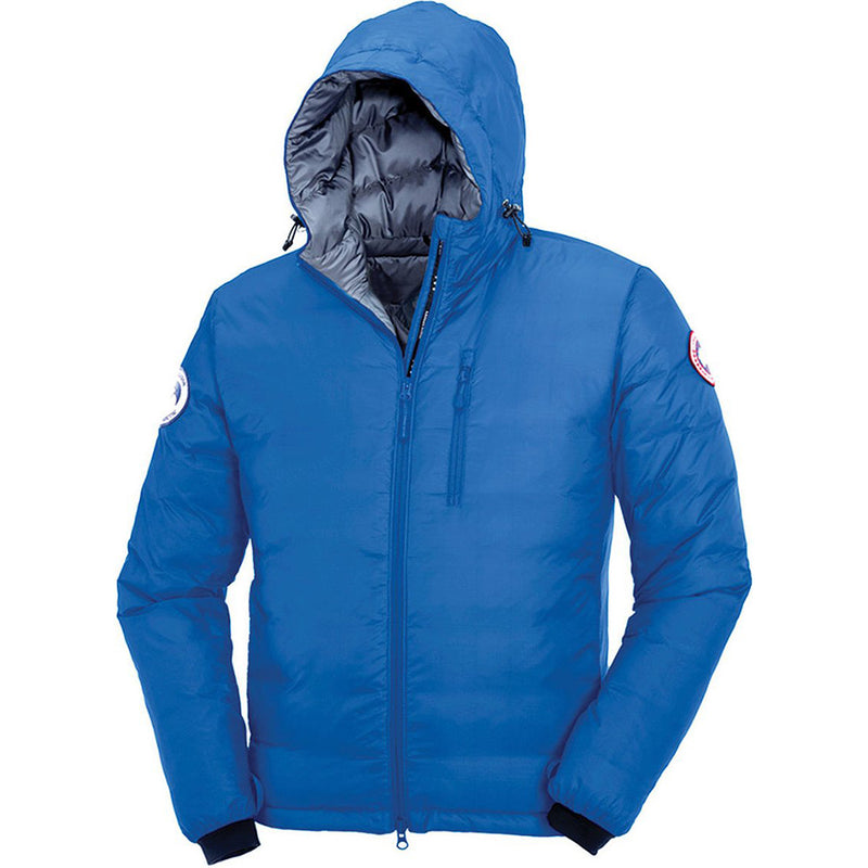 Canada Goose Men's PBI Camp Royal Jacket Blue Medium Size 2-way Adjustable Hood 5055MPB