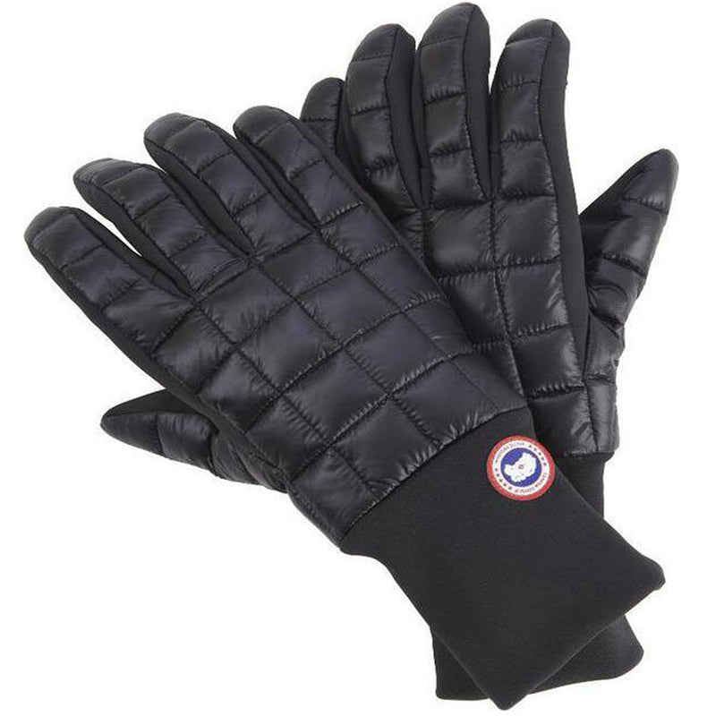 Canada Goose Northern Men's Glove Liner Black Large Size Extra-long Cuffs 5254M