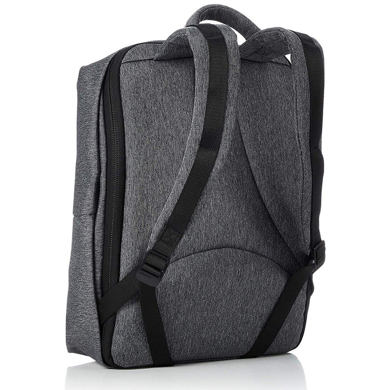 Cote & Ciel Men's Rhine Ecoyarn Backpack Laptop Sleeve Black Melange One Size 28039
