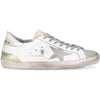 Golden Goose White Superstar Men Black Leather Contrast Star Sneaker G34MS590.N43