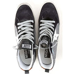 Golden Goose Midstar Metallic Women Sneakers - Silver/Black G33WS634M.M4