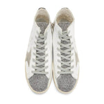 Golden Goose Deluxe Brand Francy Women's Sneaker White Leather Rubber Sole G33WS591B.B56-35