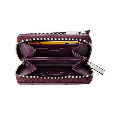 Tumi Montague SLG-Zip around Violet small wallet