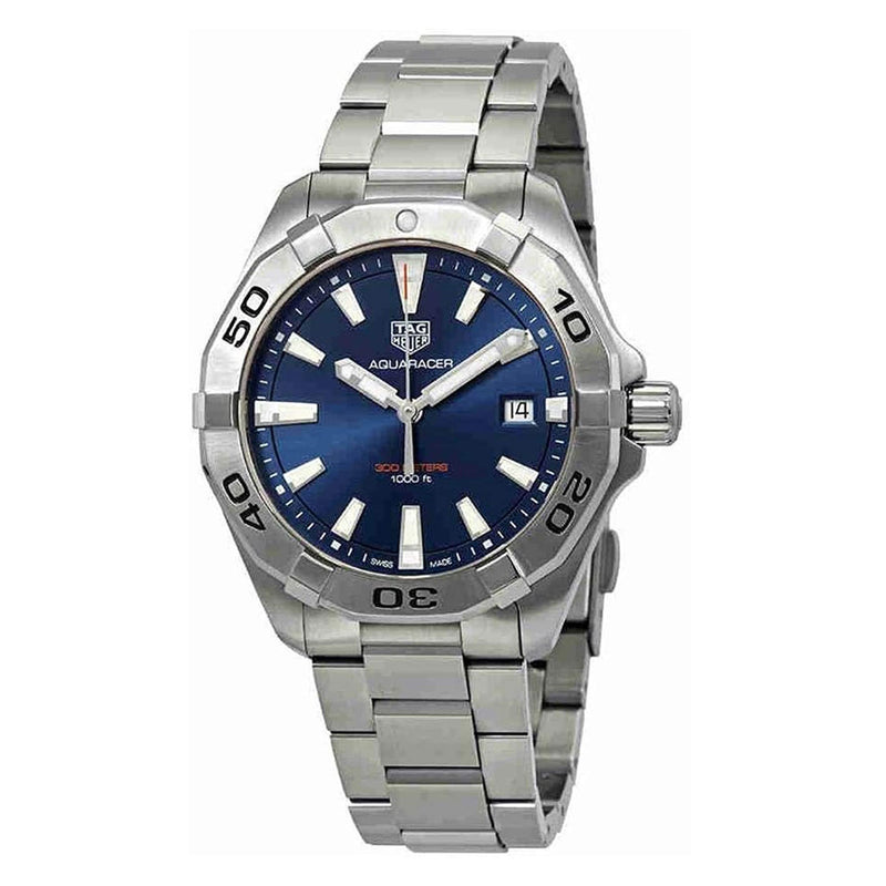 Tag Heuer Aquaracer Men's 41mm WBD1112.BA0928 Silver Watch