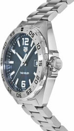 Tag Heuer Formula 1 Blue Dial 41 mm Stainless Steel Bracelet Men's Watch WAZ1118.BA0875