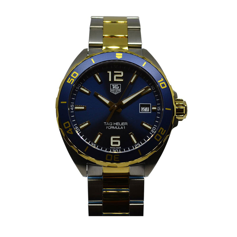 Tag Heuer Formula 1 Navy Blue Dial  Men's Watch -AS IS- WAZ1120.BB0879B