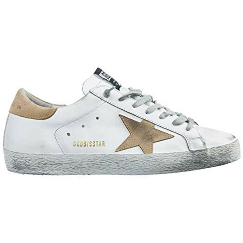 Golden Goose Deluxe Brand Superstar Men's Sneakers in White G34MS590.N16