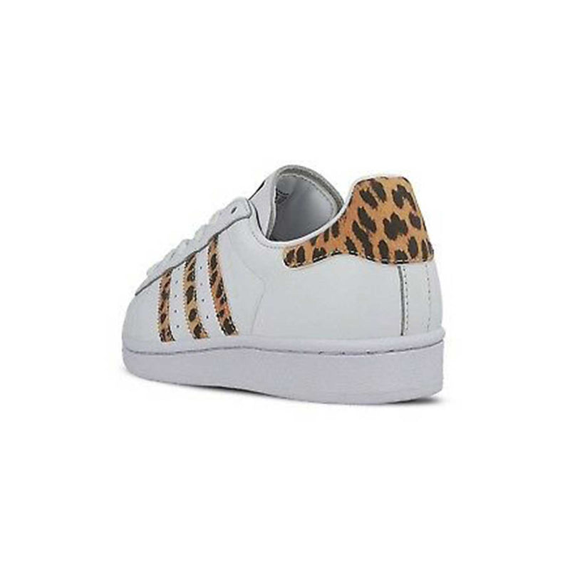 Adidas Superstar Women's Synthetic Soft Leather Rubber Sole White Sneakers CQ2514