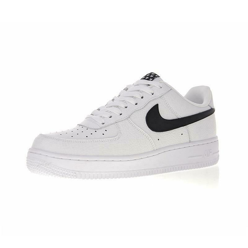 Nike Air Force 1 '07 Men's Low Basketball Shoe Rubber sole Foam Midsole White/Black AA4083-103