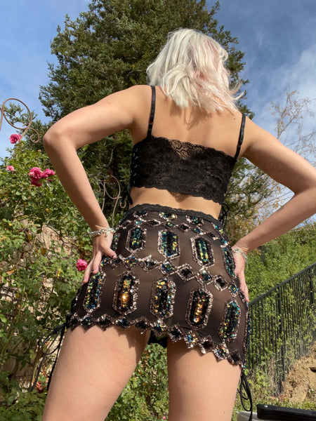 Obsidian Goddess Skirt