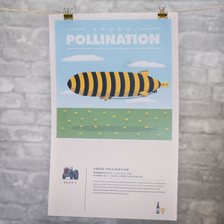 Poster: Cross Pollination - David Suzuki Foundation Collaboration 2017